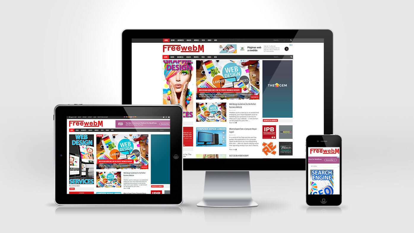 FreewebM Website Design Creation