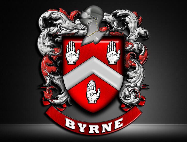 Byrne Coat of Arm