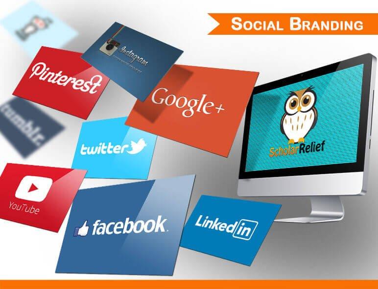 Social Branding Designs for Scholar Relief